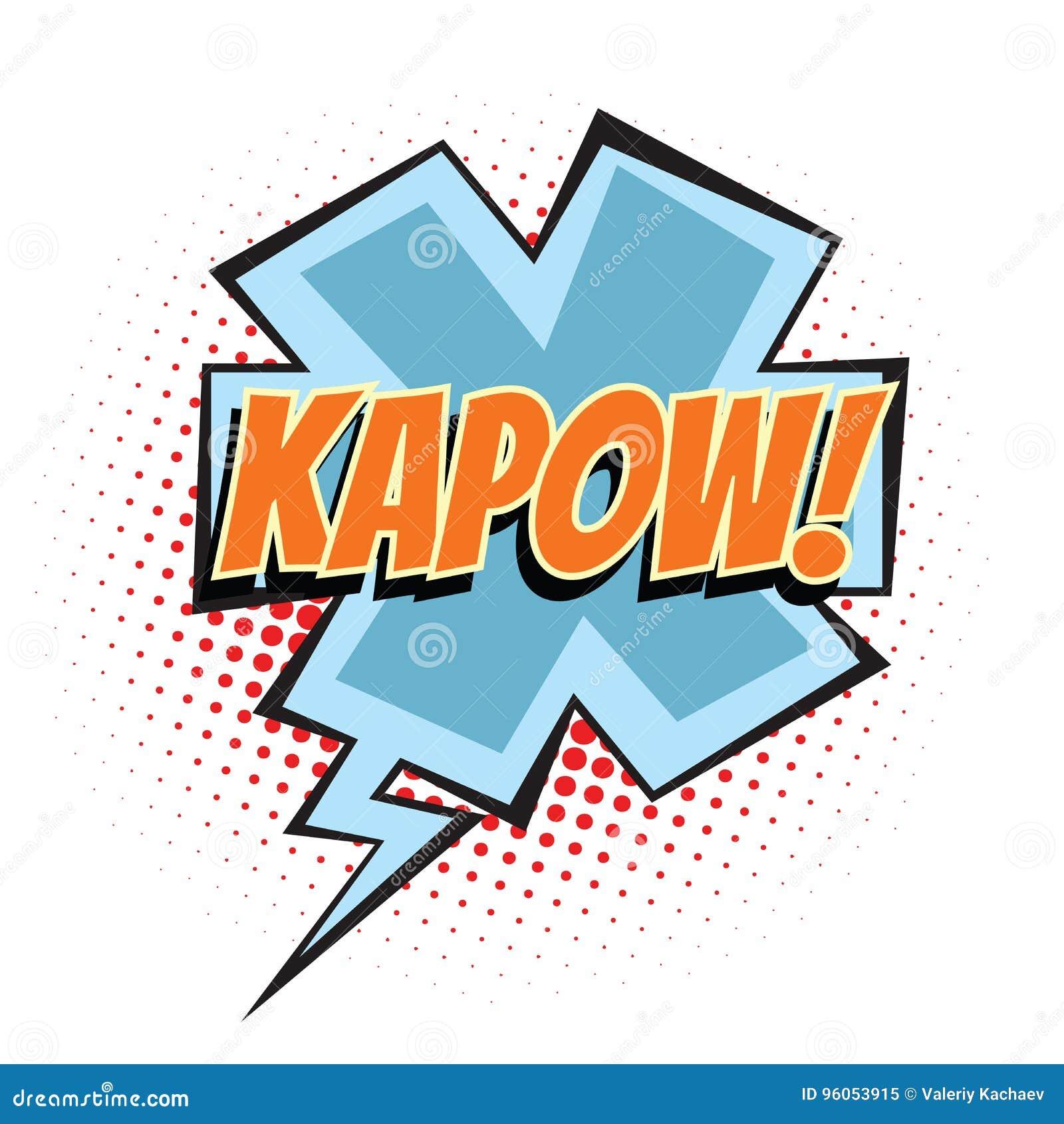 Mot comique de Kapow