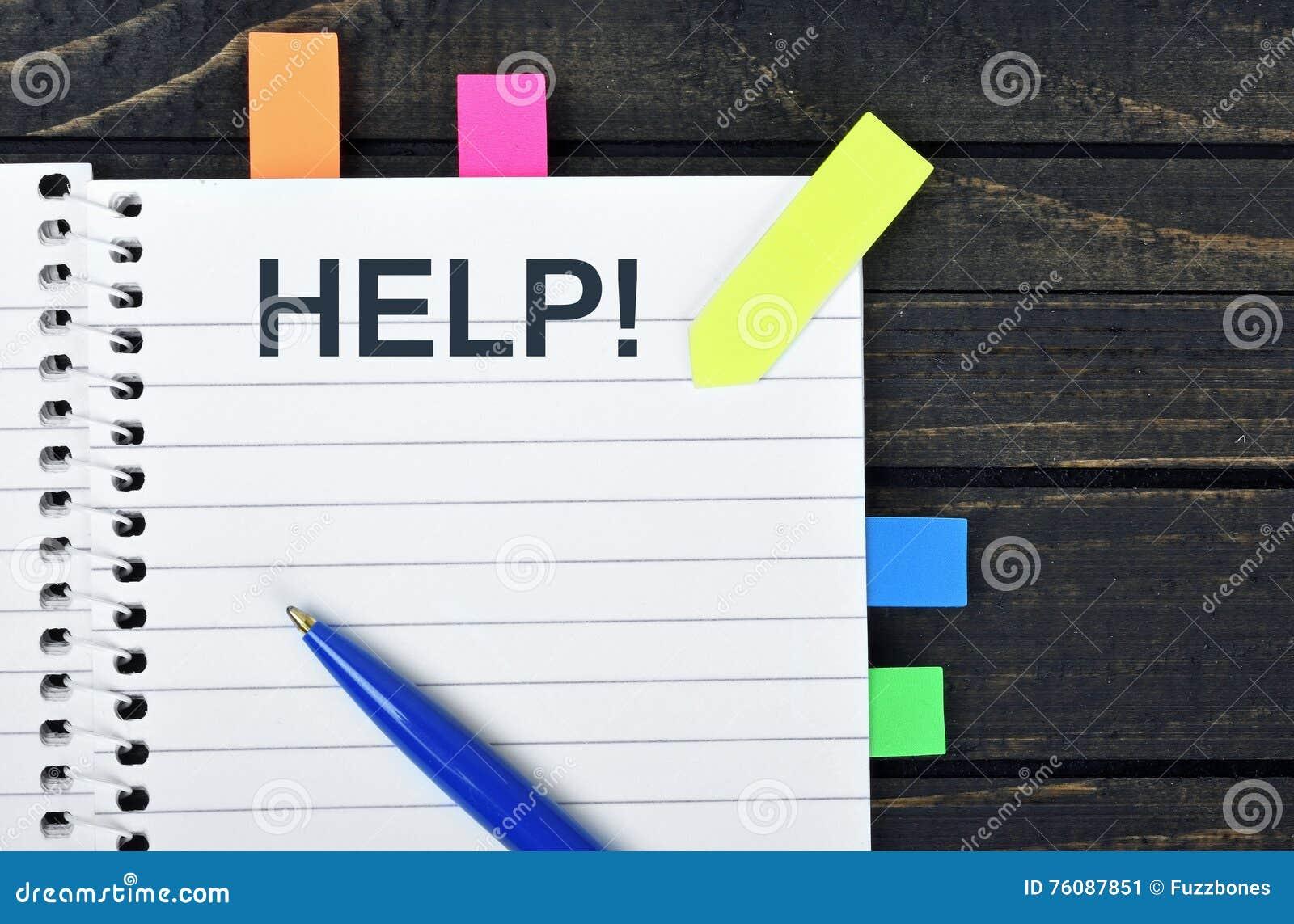 Mot d aide sur le bloc-notes