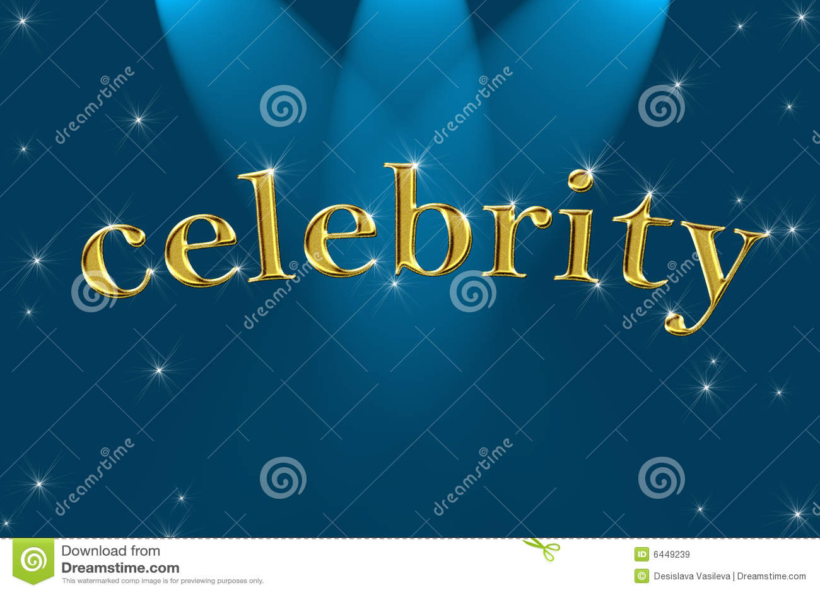 Mot d or de signe de célébrité