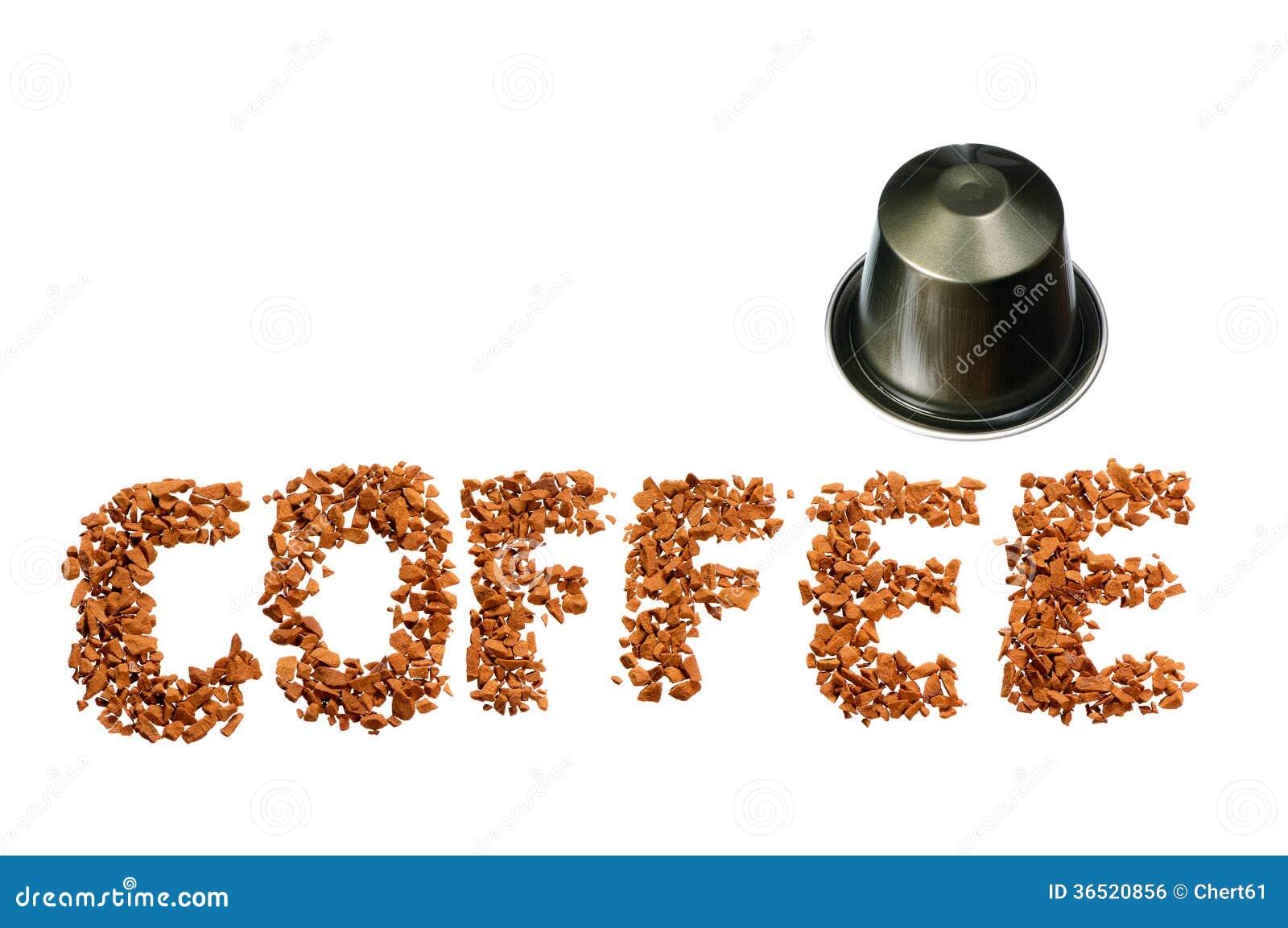 Mot de café