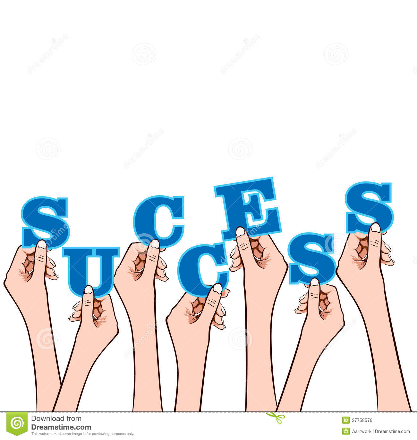 Mot de réussite sur la bulle de message