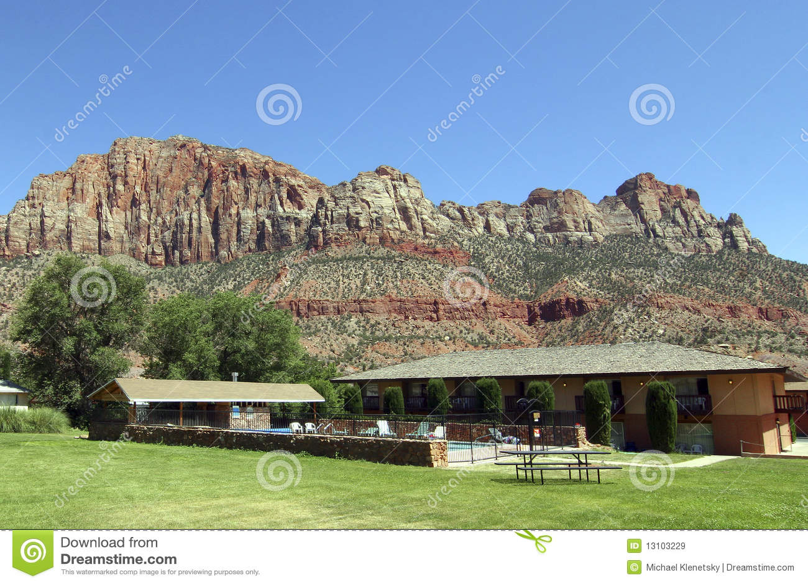 Motel rural