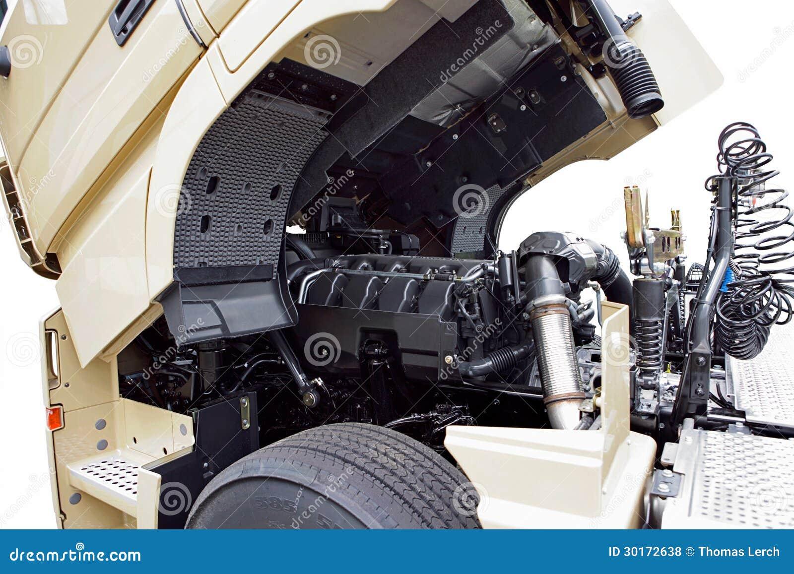 moteur de camion photo stock image du logistique nergie 30172638. Black Bedroom Furniture Sets. Home Design Ideas