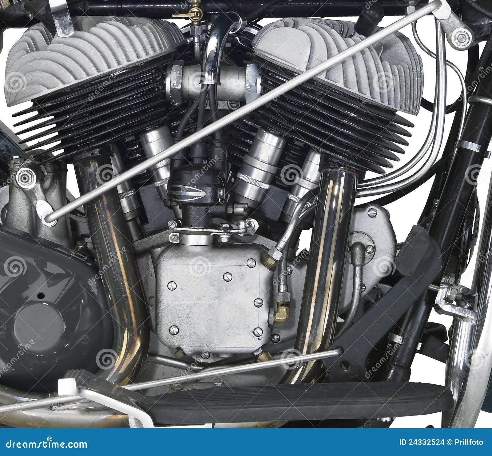 Moteur d une motocyclette