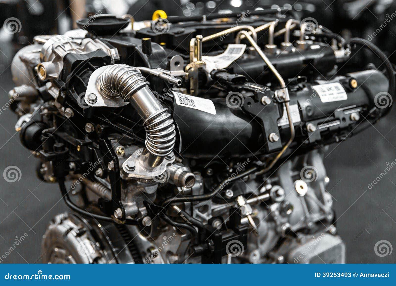 moteur de voiture de turbo image stock image du groupe