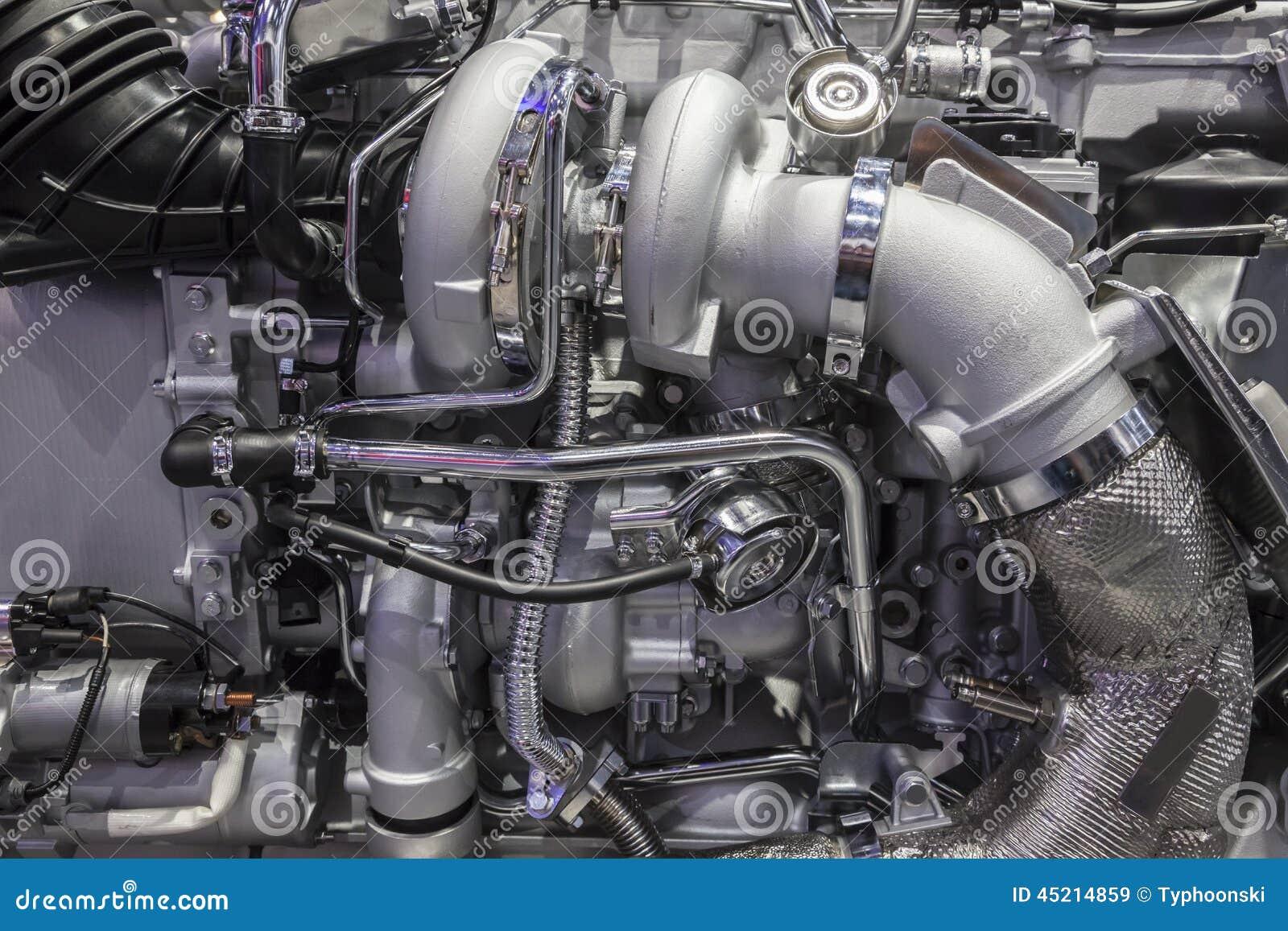 moteur diesel de turbo de camion r sistant image stock image du turbo machine 45214859. Black Bedroom Furniture Sets. Home Design Ideas