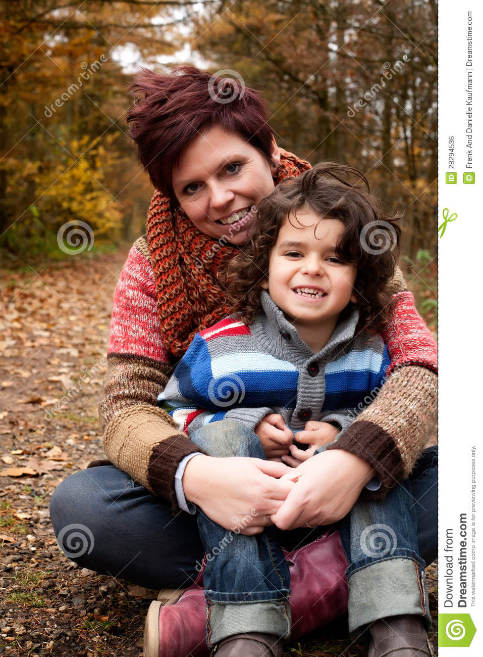 Mothe and her son