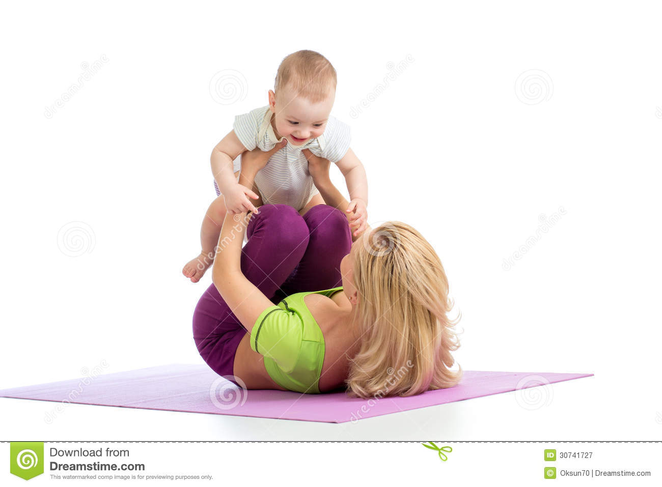 How to Do the Happy Baby Exercise
