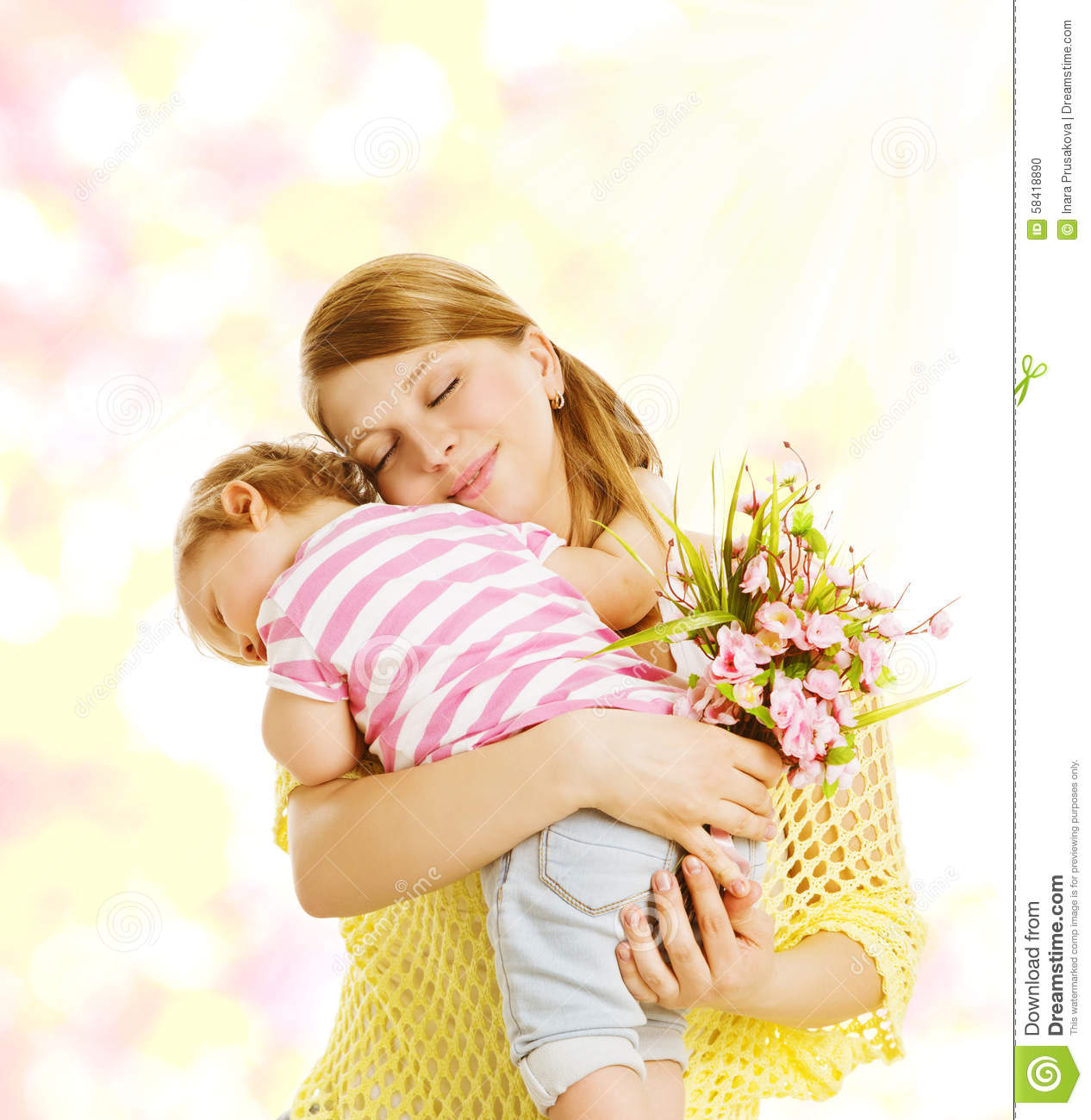 the first relationship infant and mother
