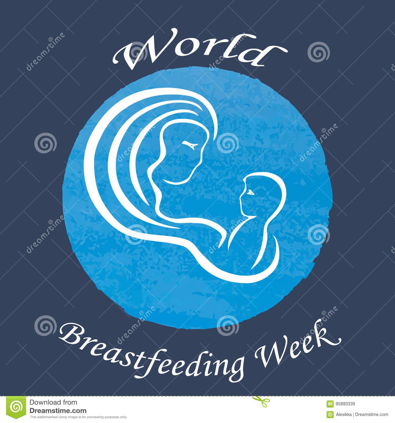Mother and baby vector logo icon