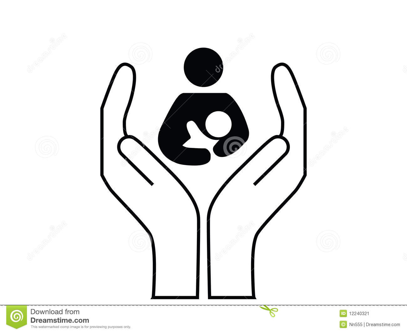 Mother And Child Care Stock Image - Image: 12240321