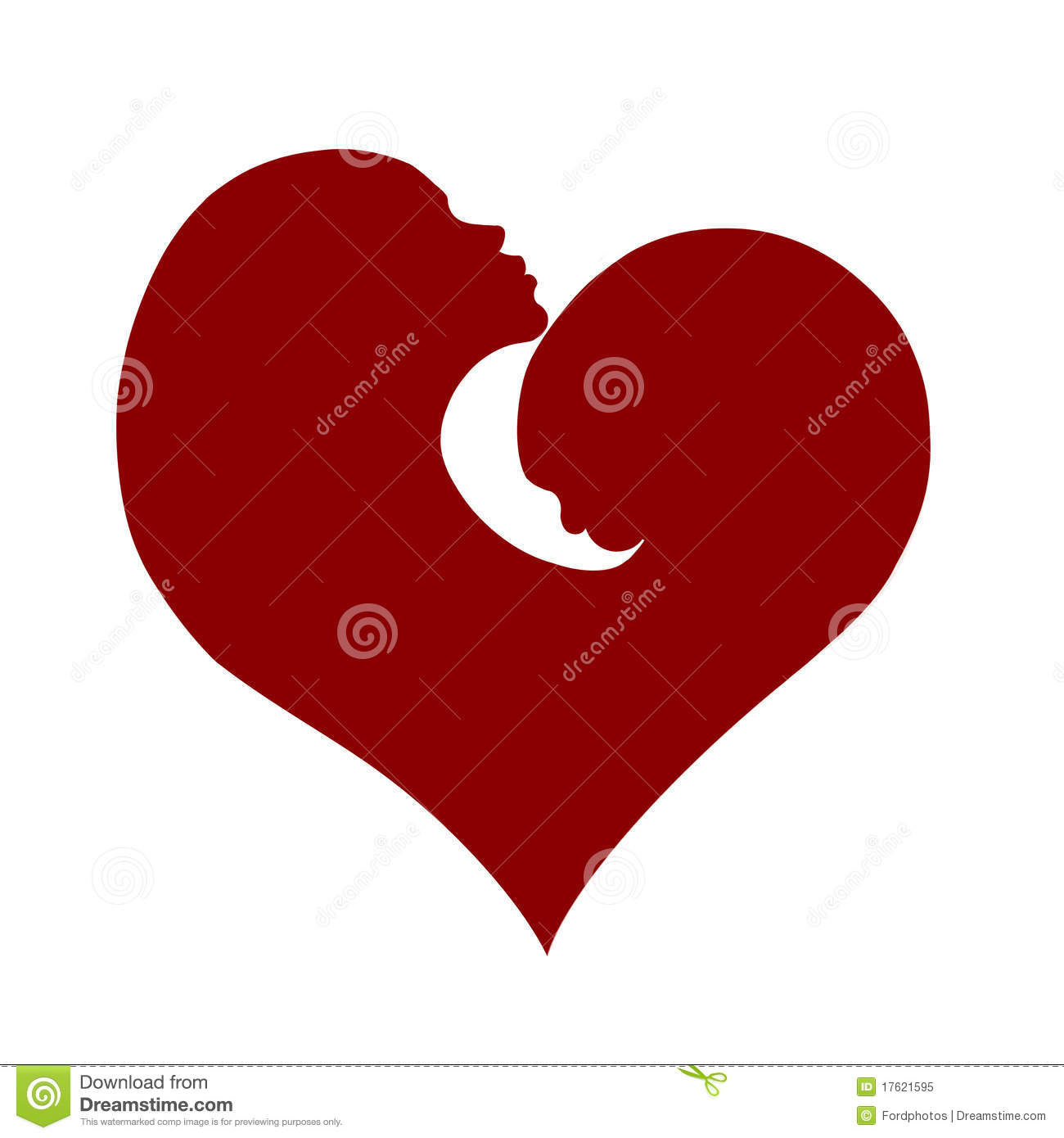 ... Child Heart Valentine White Royalty Free Stock Photo - Image: 17621595