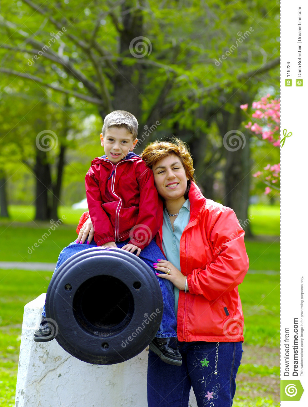 Mother and Child at Park