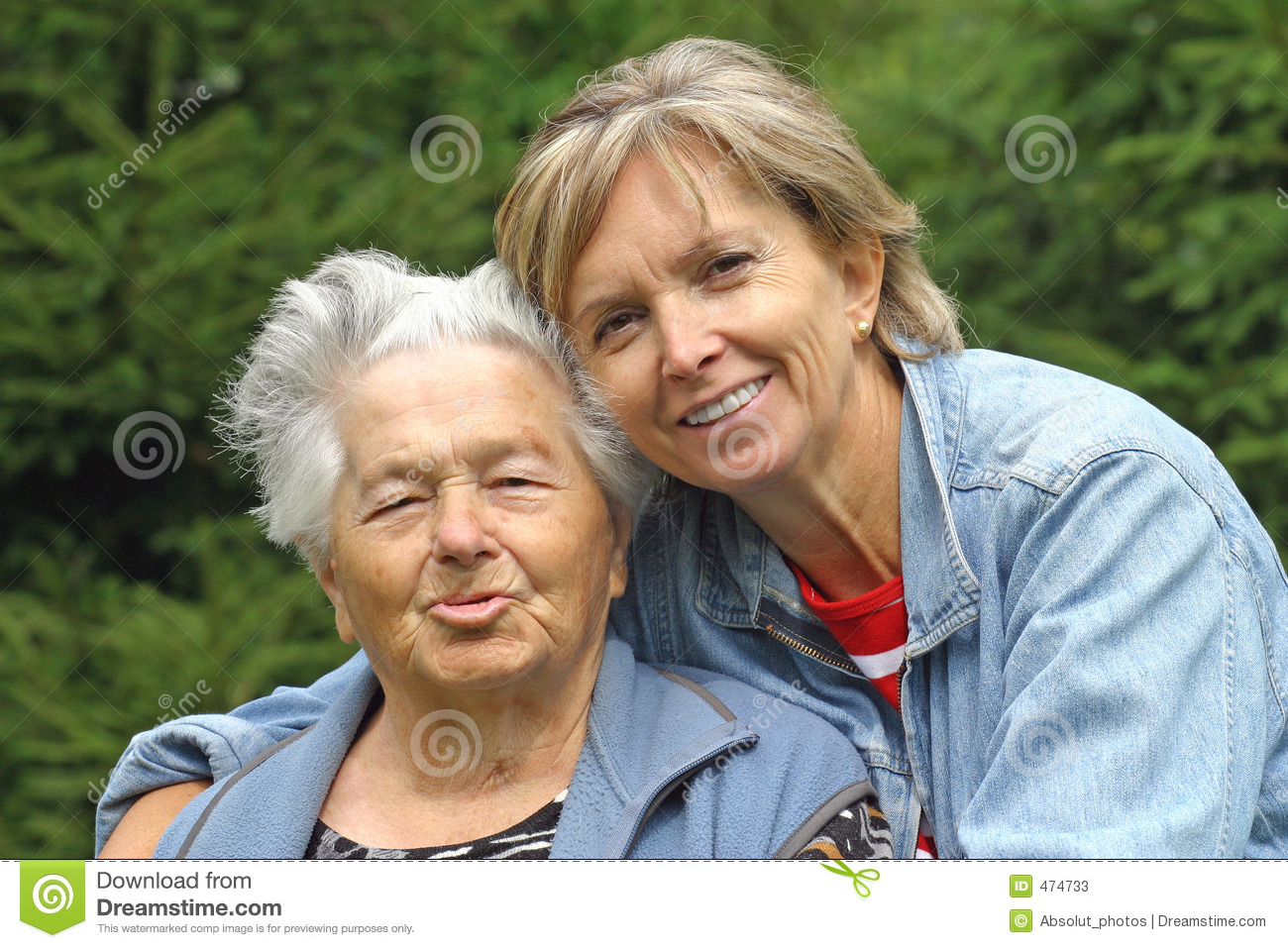 Mother and daughter [1]