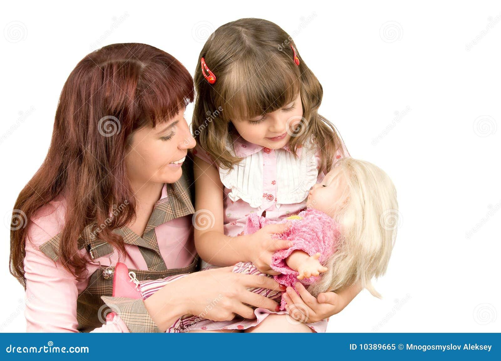 Развлечении матери с дочерью 4 фотография