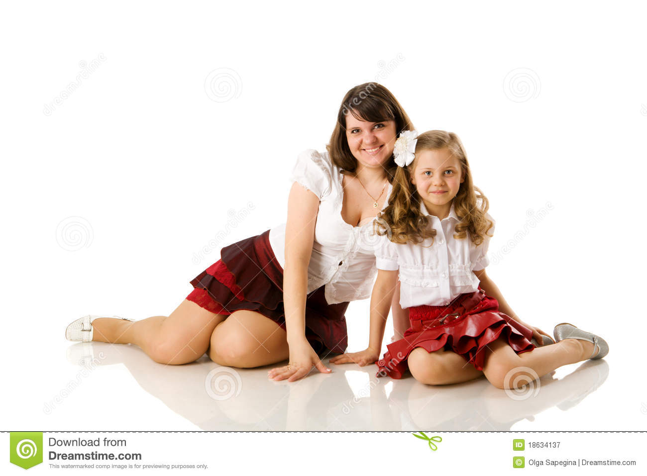 pure nudism mom and daughter Mother and daughter