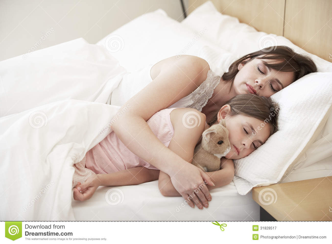 Russian mom son sleep together bed