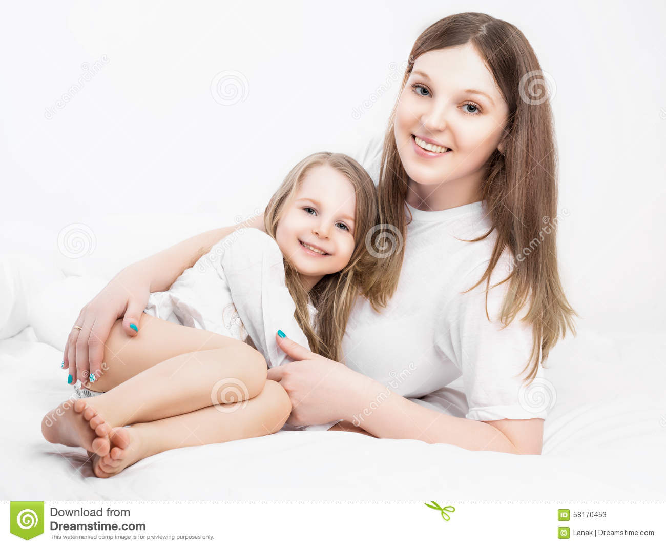 Mother and daughter stock photo image 58170453 for Mother daughter house plans
