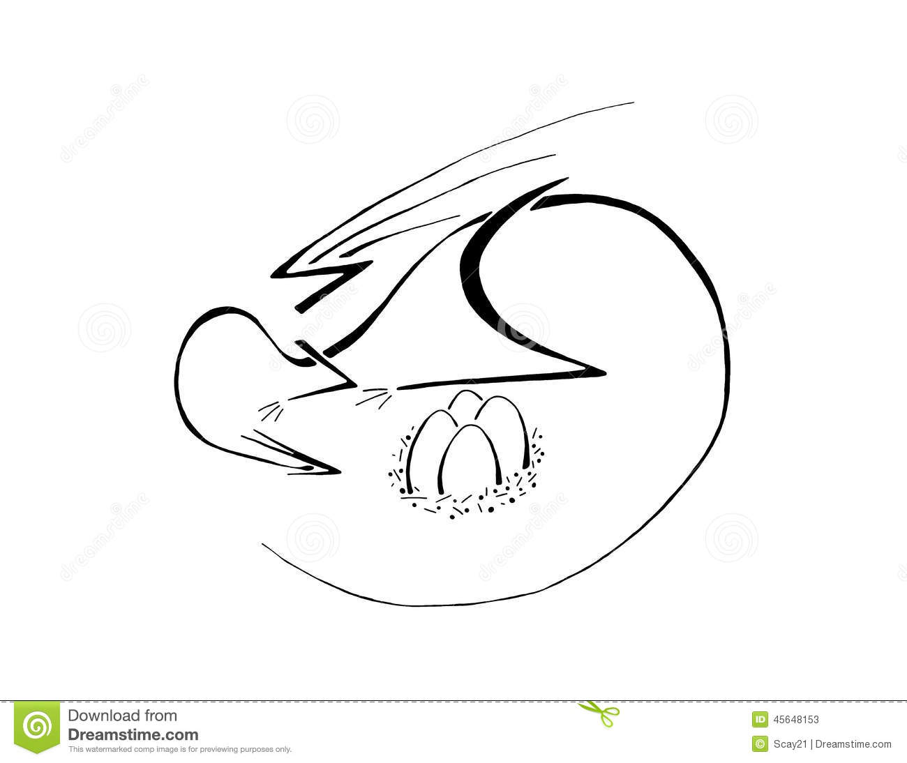 Clipart Of A Nest