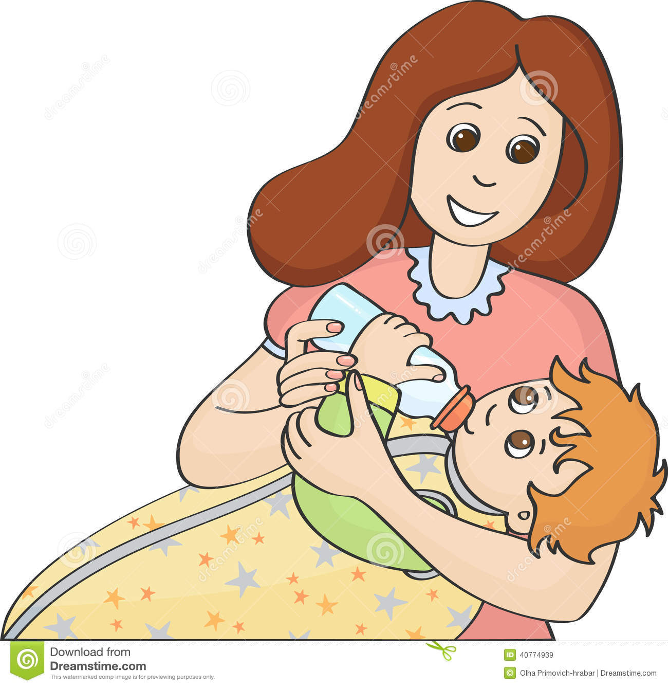 baby eating clipart - photo #34