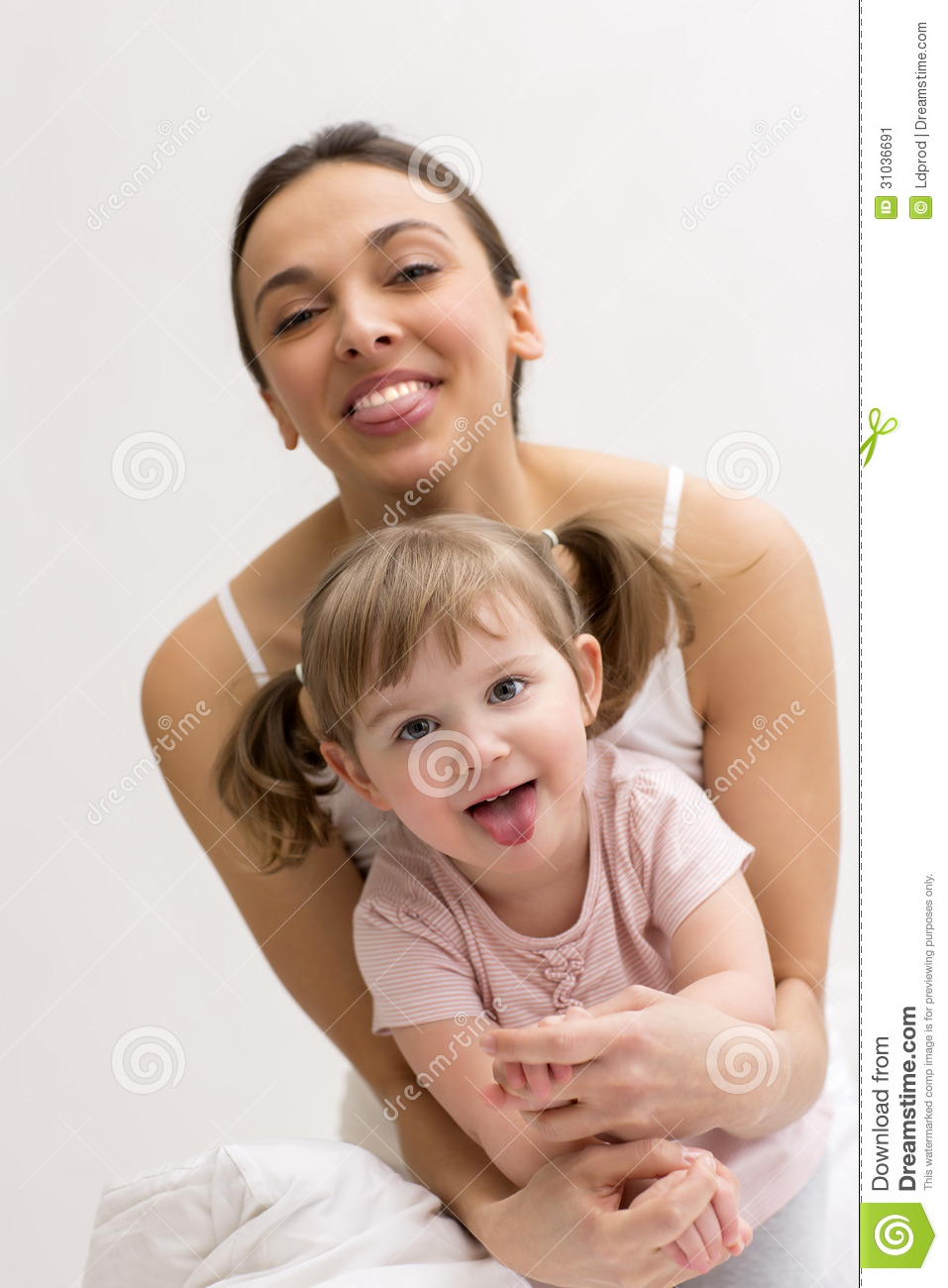 Mother and daughter having fun-3822