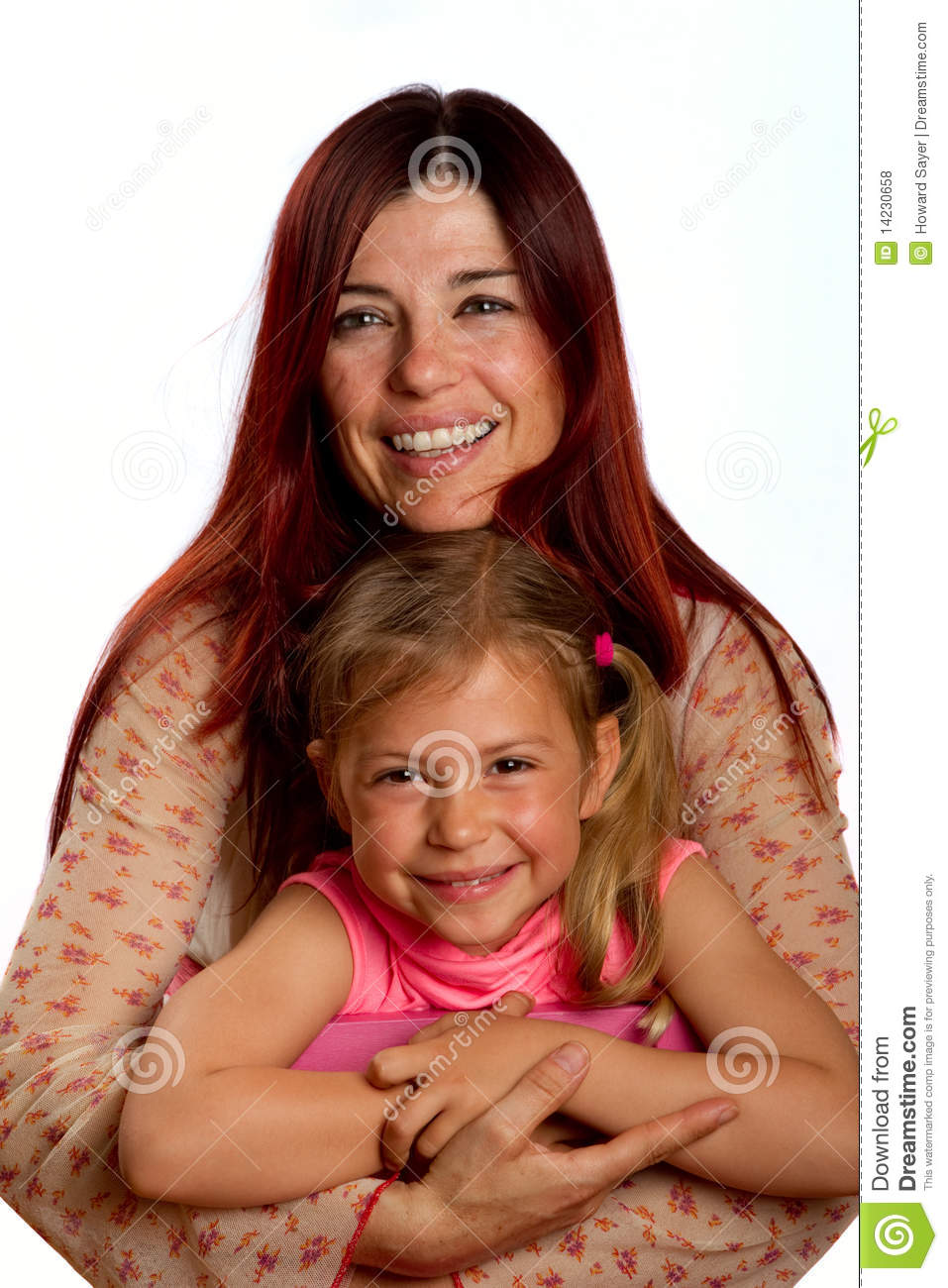 Mother and daughter hugging at park — Stock Photo