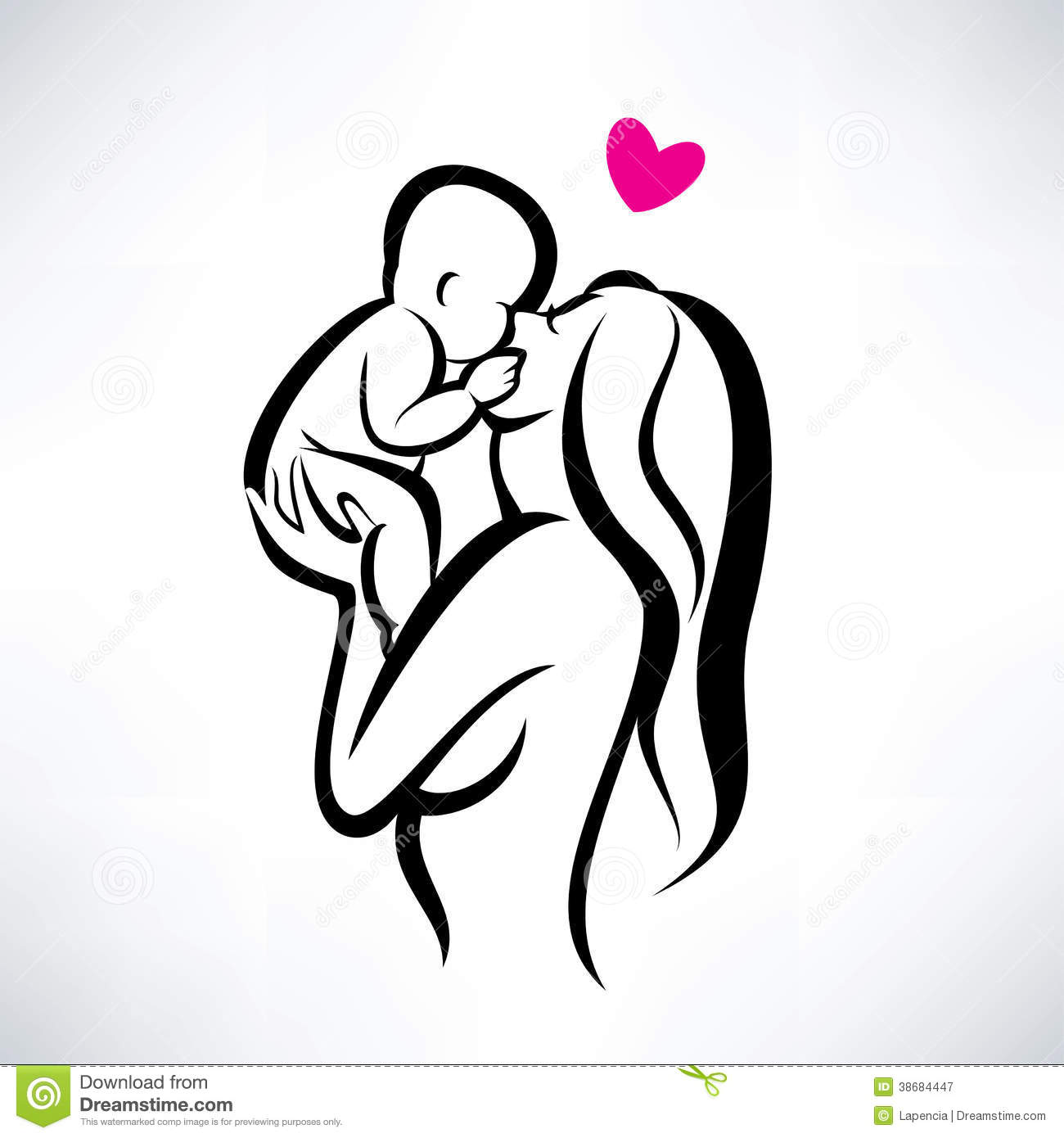 Mother Child Stock Illustrations 45375 Mother Child Stock
