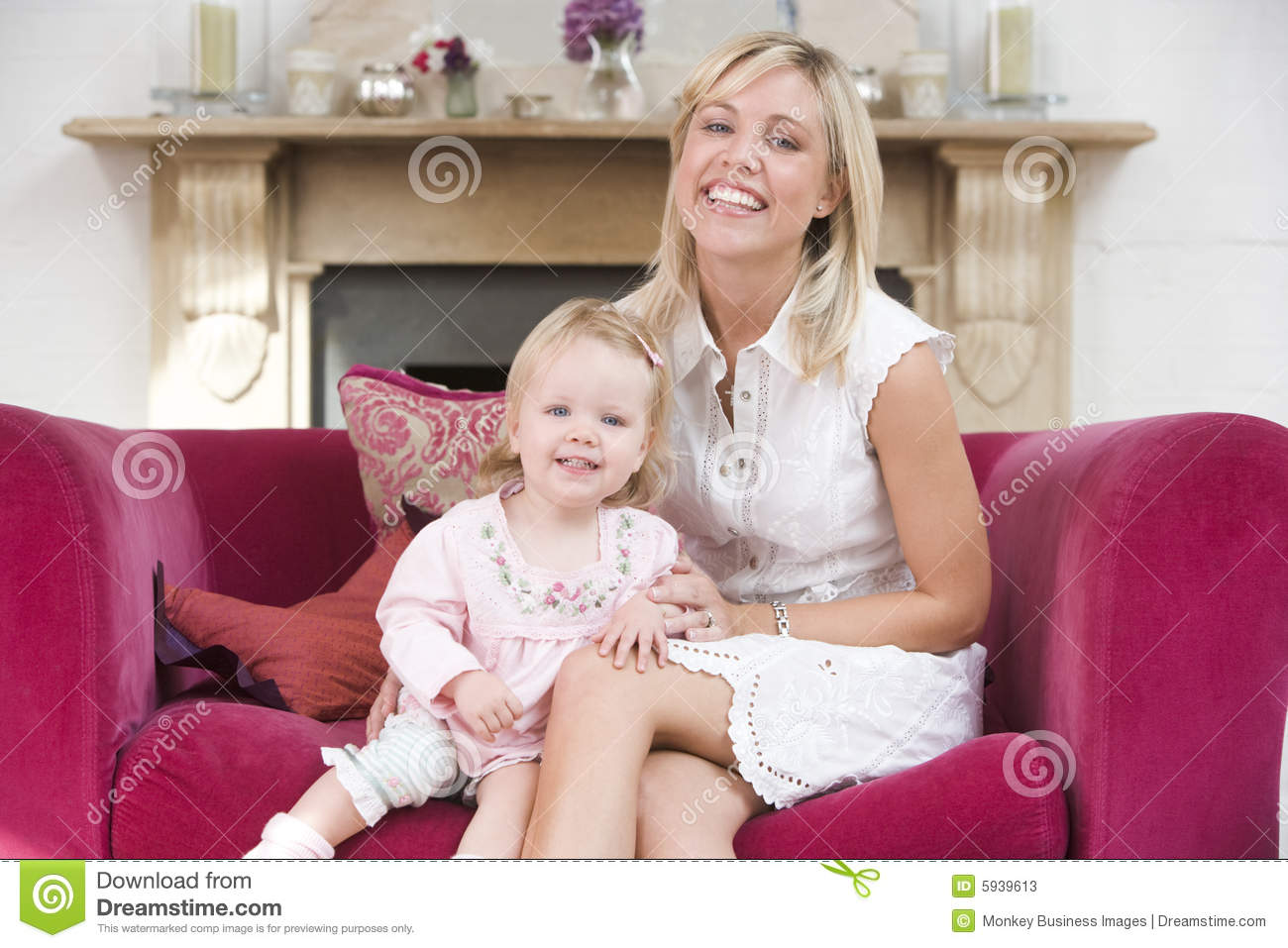 baby living room and baby in living room royalty free stock image 10607