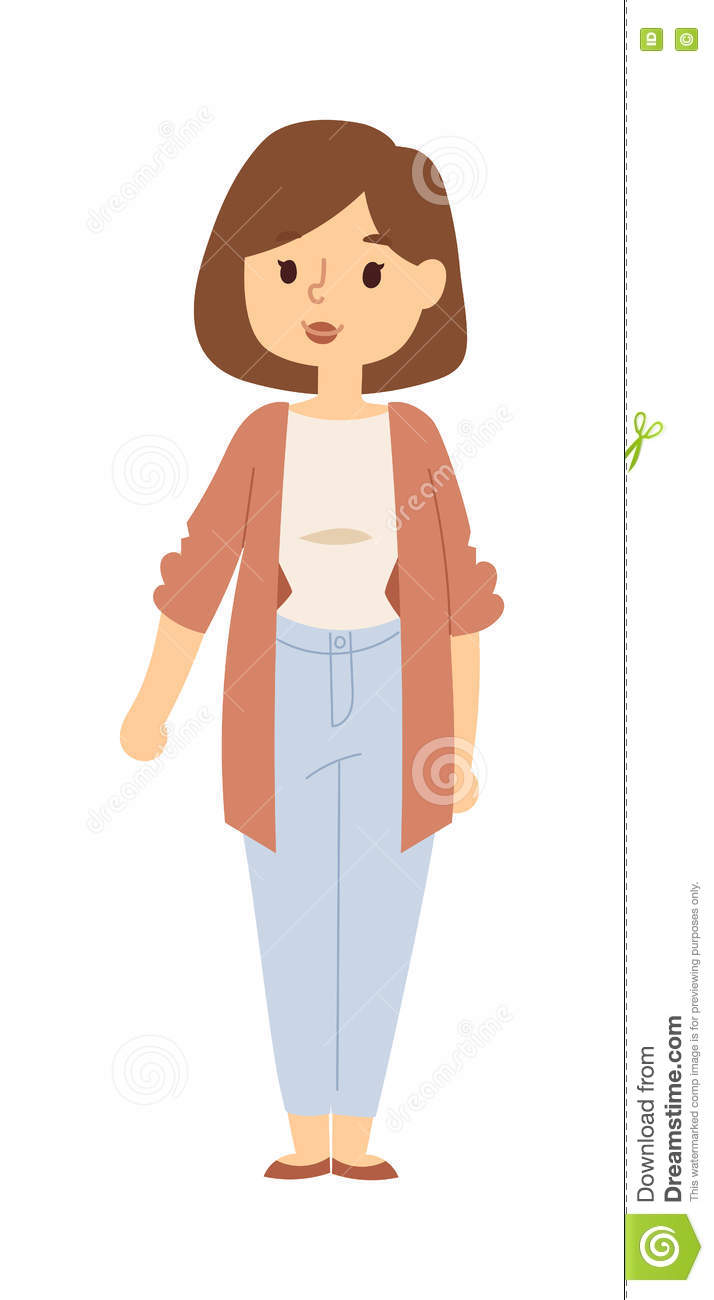 Mother Portrait Vector Illustration. Stock Vector ...