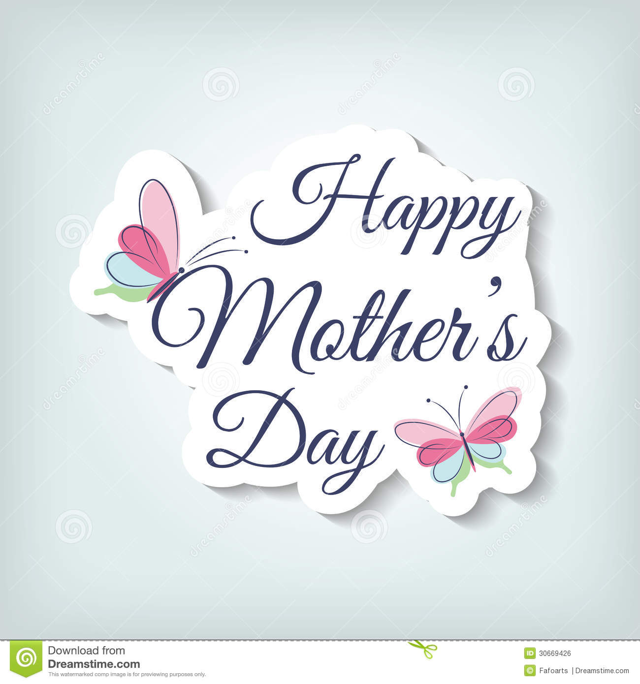 Mother 39 s day card royalty free stock image image 30669426 for Classy mothers day cards
