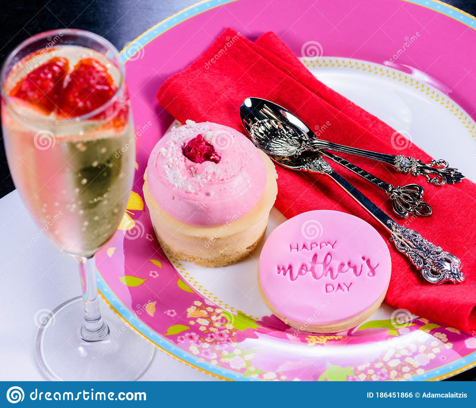 Mother S Day Cookie Stock Photo Image Of Festive Cute 186451866