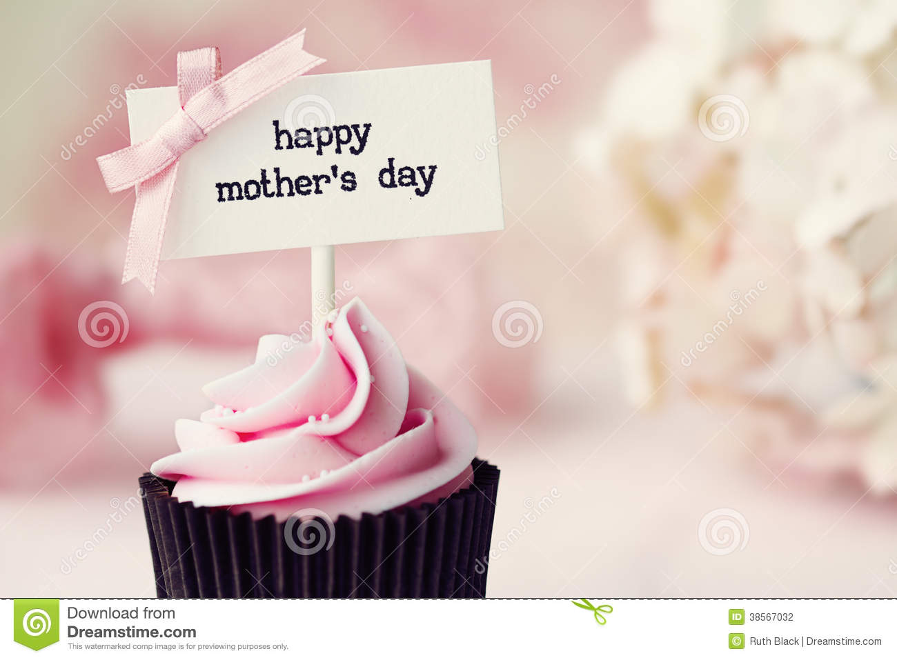 Mother S Day Cupcake Stock Photography Image 38567032