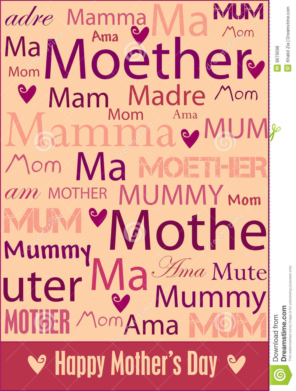Mother s Day poster