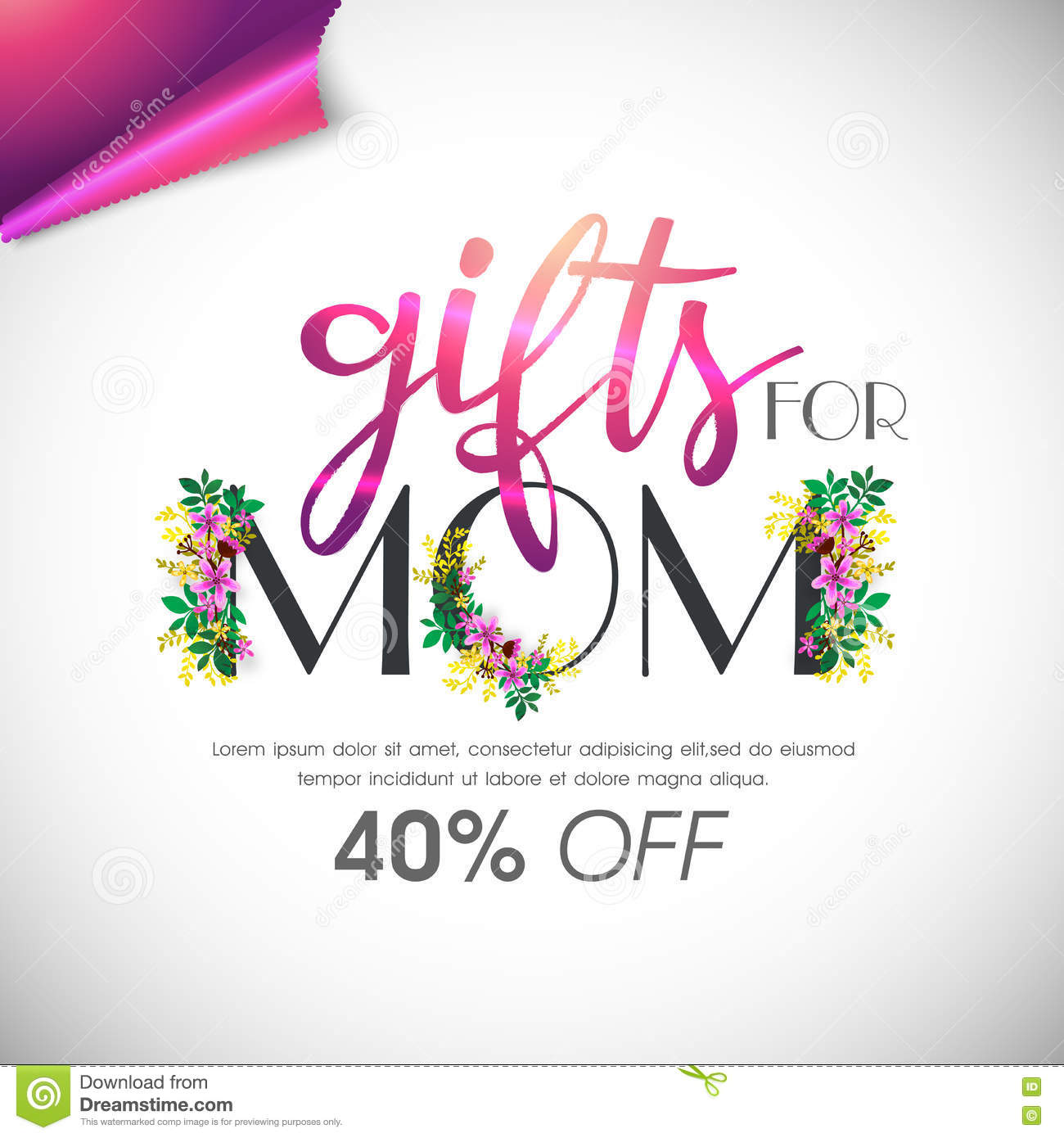 Mother S Day Sale Poster Banner Or Flyer