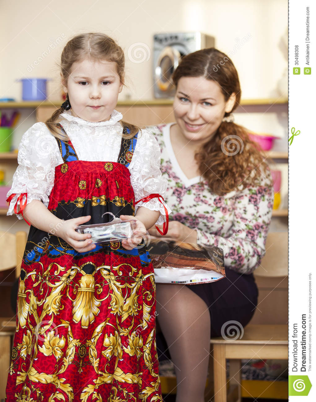 russian mother and daughter