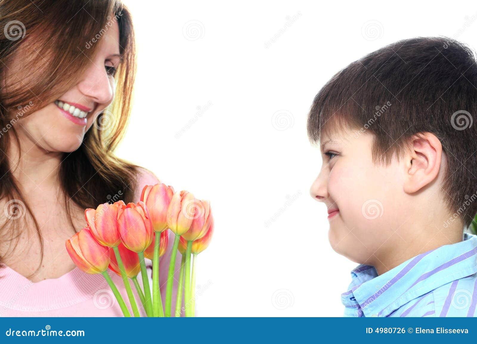 Сын и свои мать 10 фотография