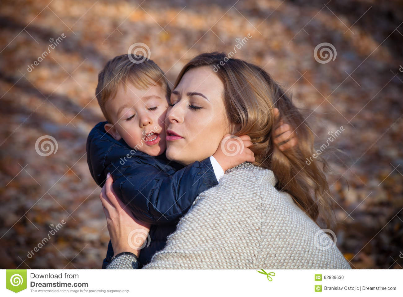 Mother and son in love