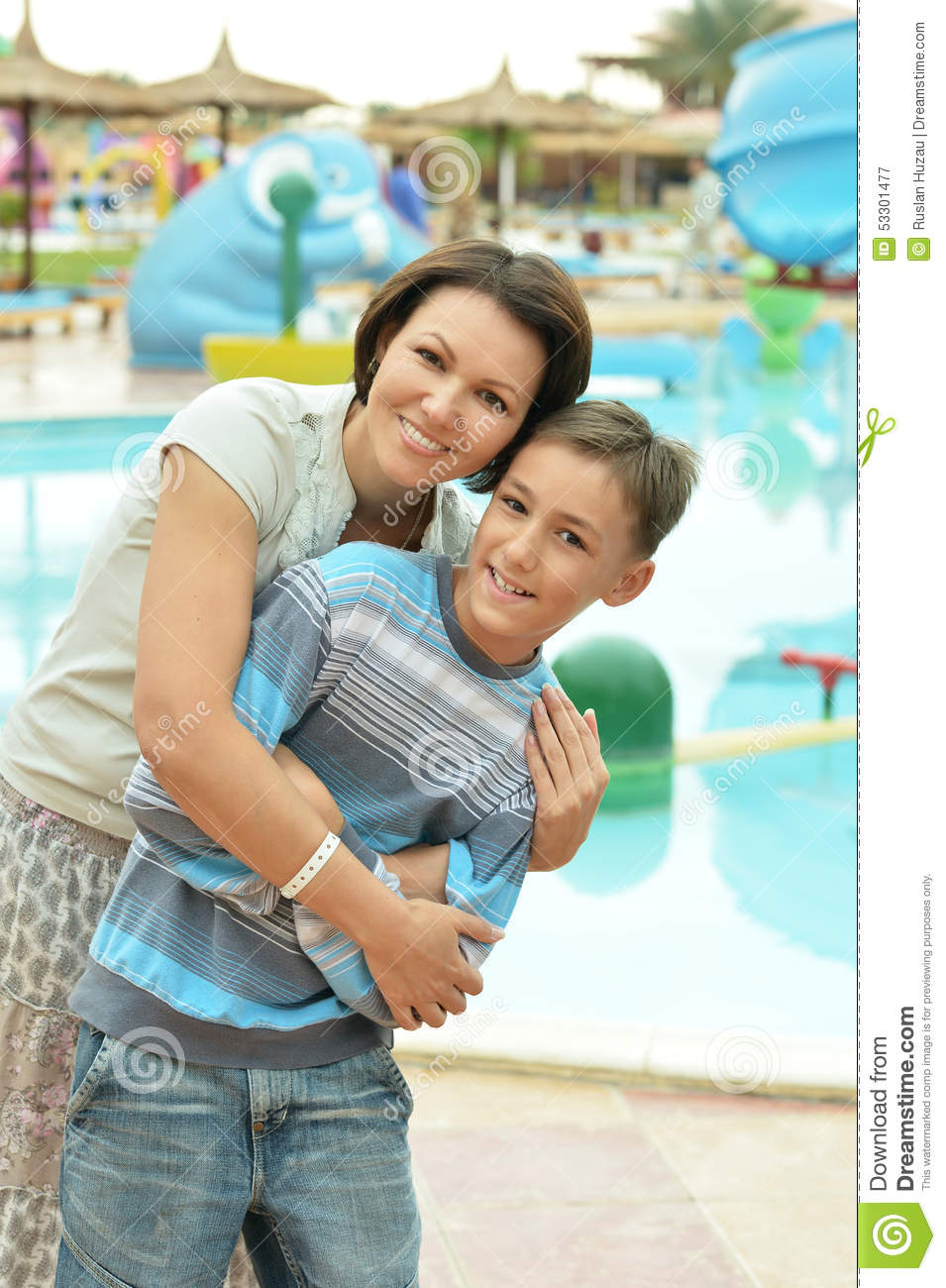 Mother Son Pool