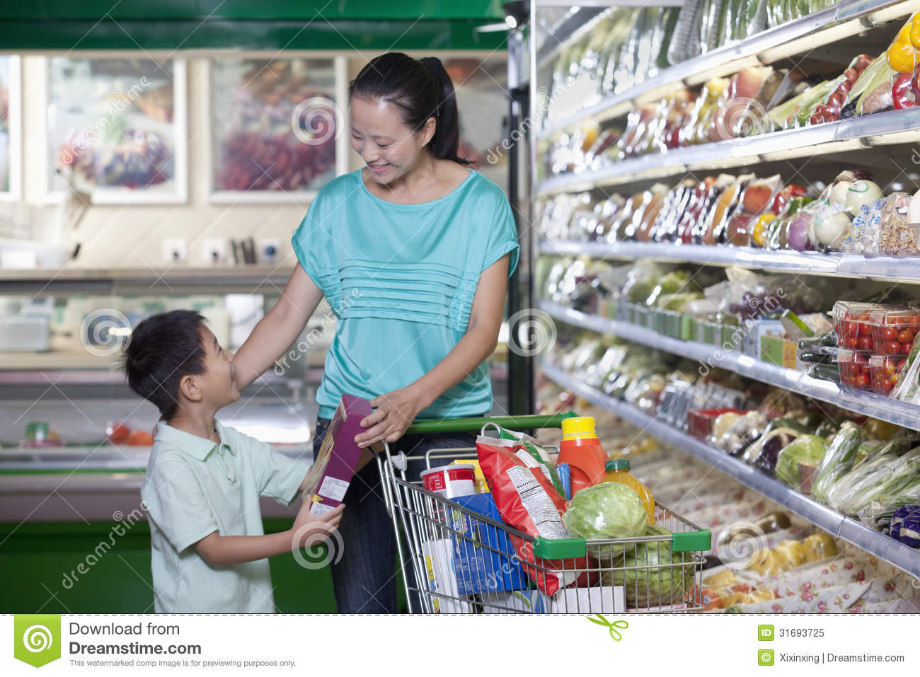 mom and son shopping porn