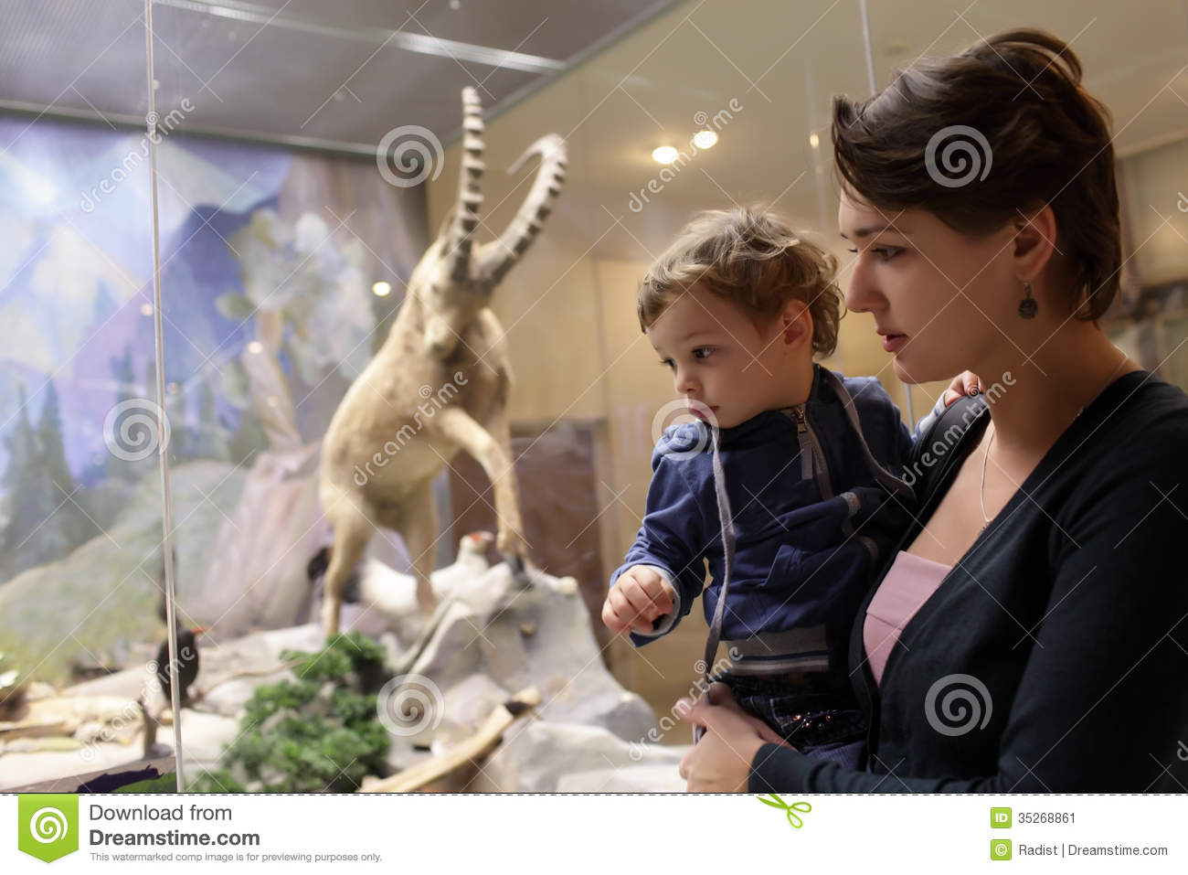 mother  and  son Russian Download Mother With Son At Zoological Museum Editorial Photo - Image of  culture, russian: