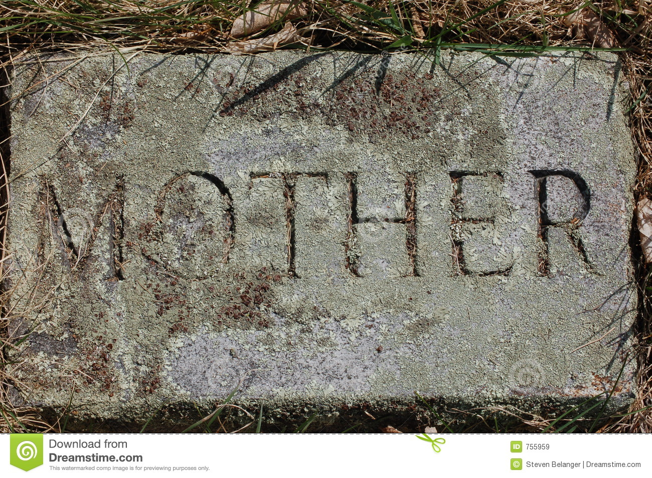 Mother  stone marker