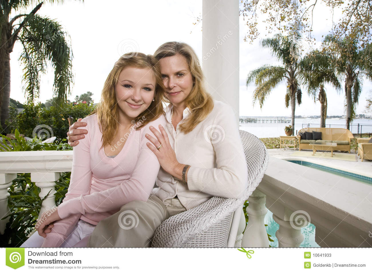 Clipart Of Mother And Daughter