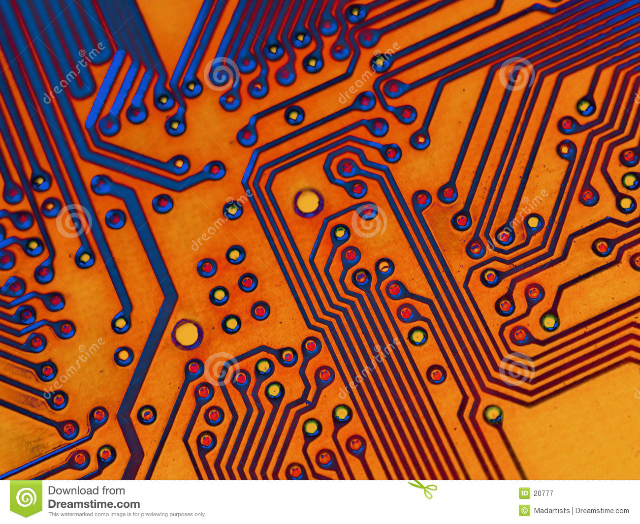 Motherboard Background Texture
