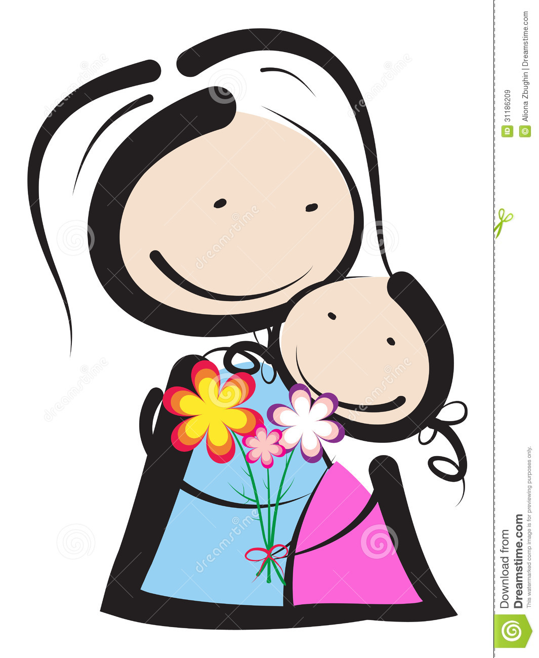Mothers Day Royalty Free Stock Images - Image: 31186209