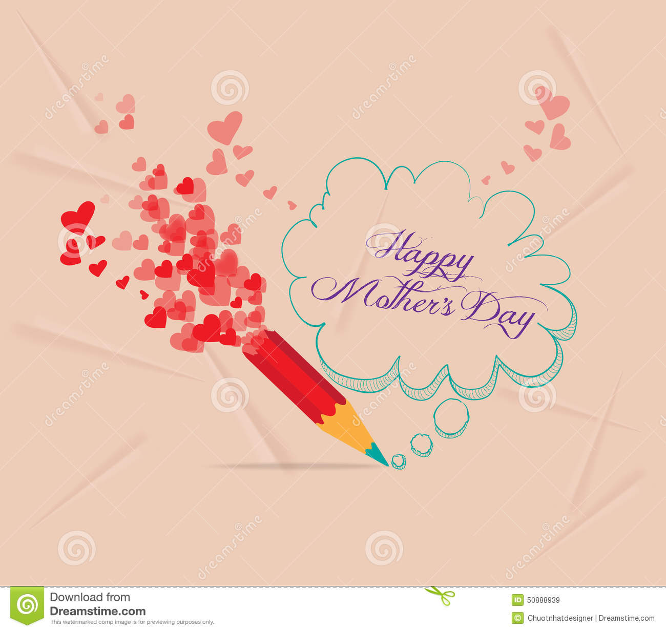 Happy motherss day background and card for design