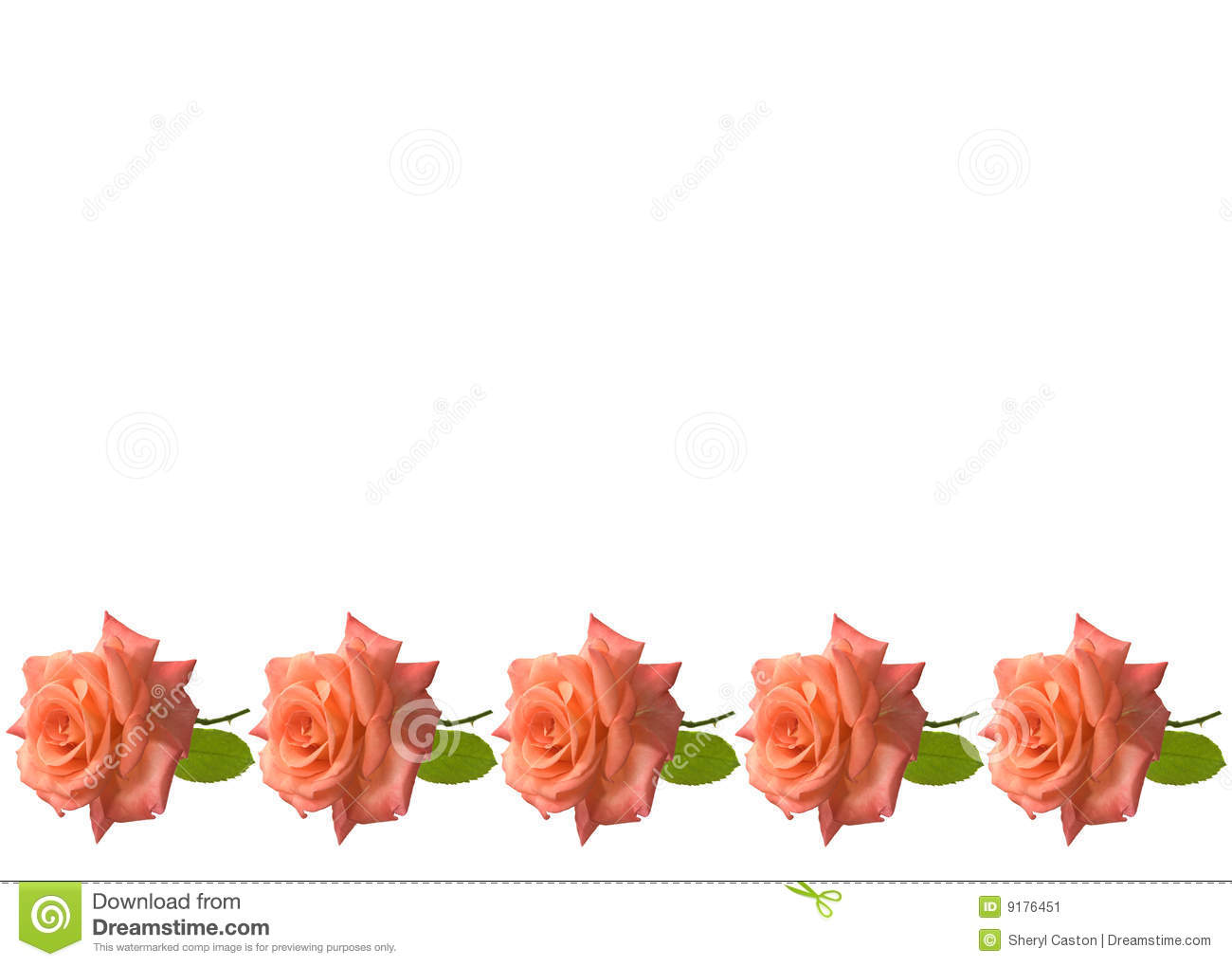 Mothers Day Roses Card Background Stock Image Image 9176451