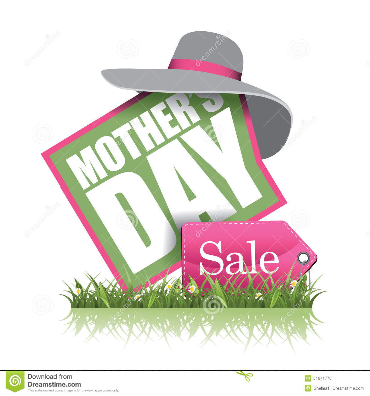 Mothers Day Sale Icon Eps  Vector
