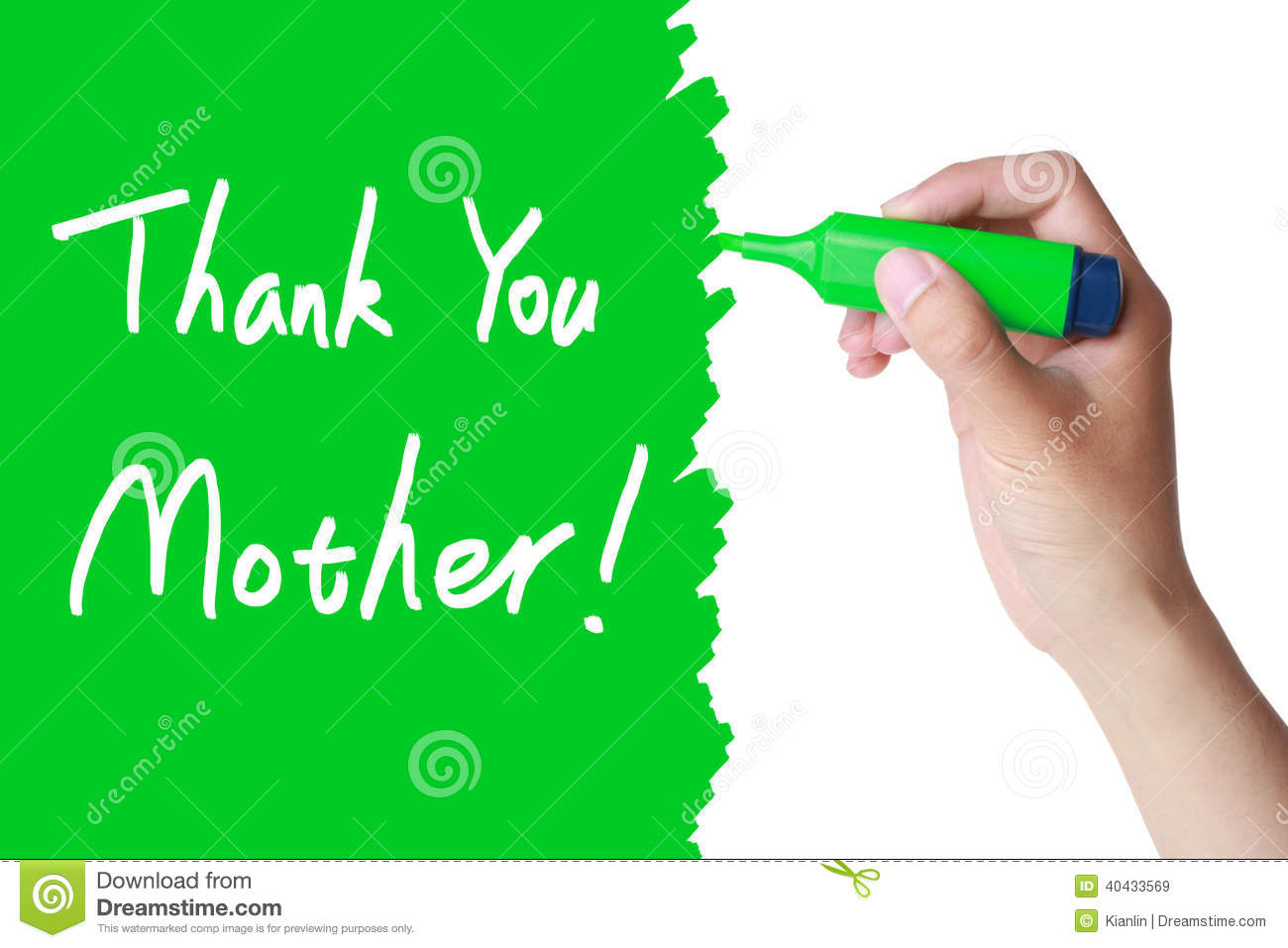 Mothers Day Thank You