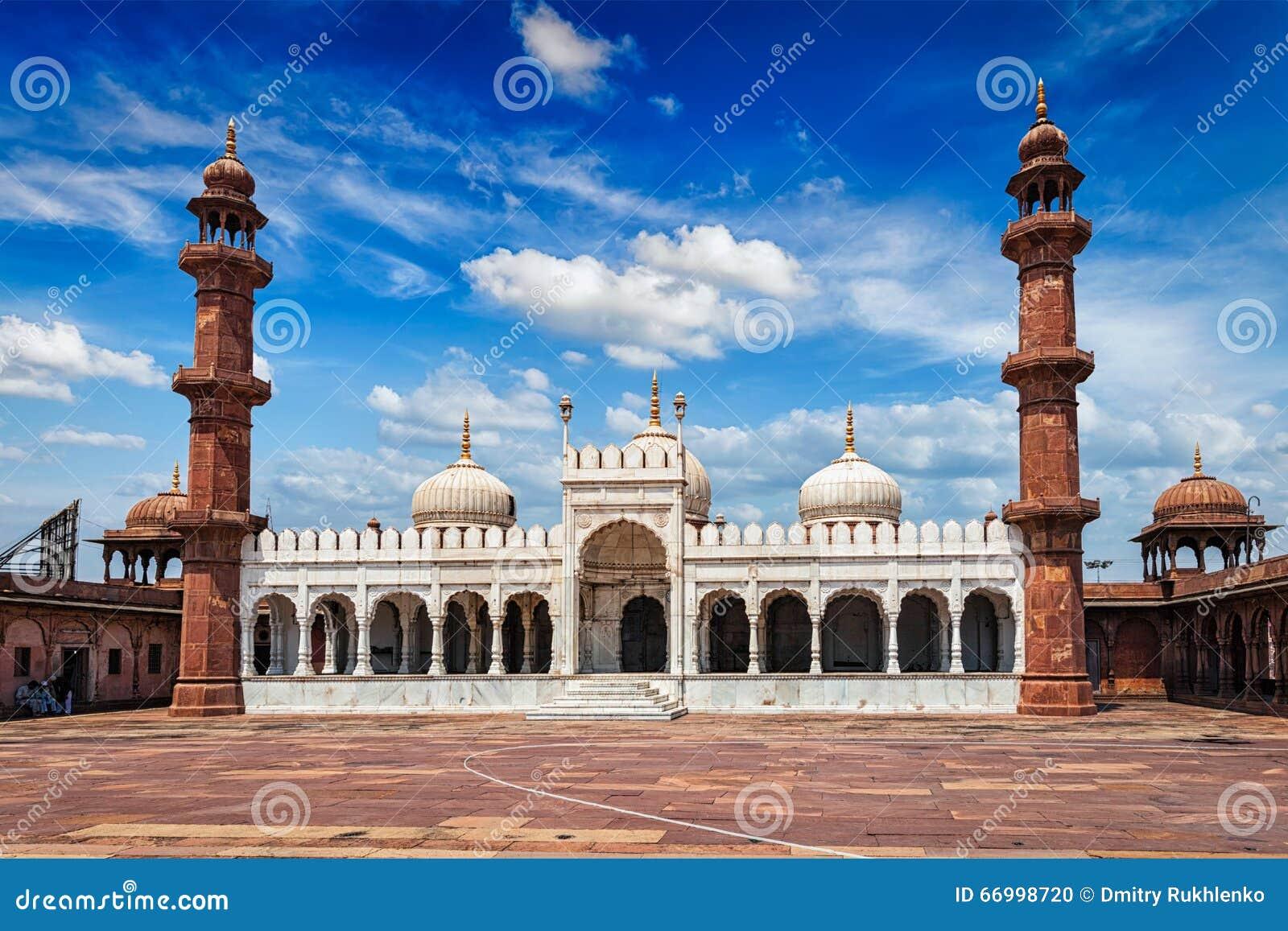 Moti Masjid Pearl Mosque, Bhopal, Indien