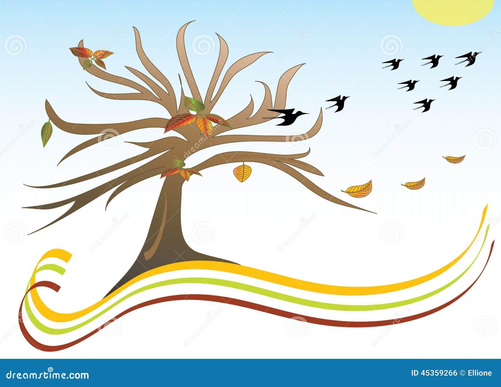 Motif d automne